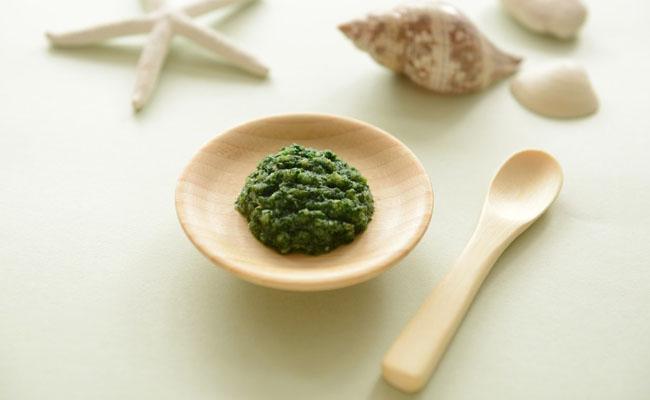 【離乳食初期】白身魚・小松菜とろとろ