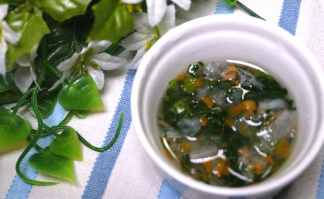 【離乳食中期】 にんじん大根小松菜のスープ