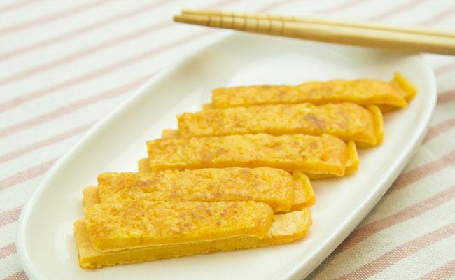 【離乳食完了期】にんじんパンケーキ