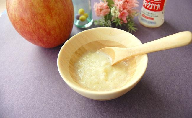 りんごを使った離乳食レシピ