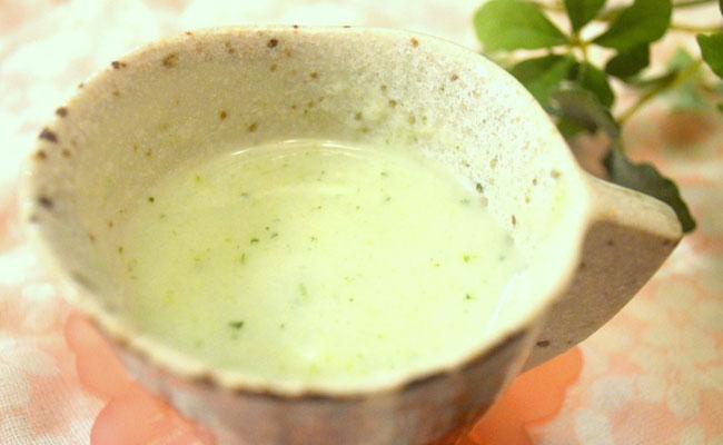 【離乳食初期】ブロッコリーポテトスープ