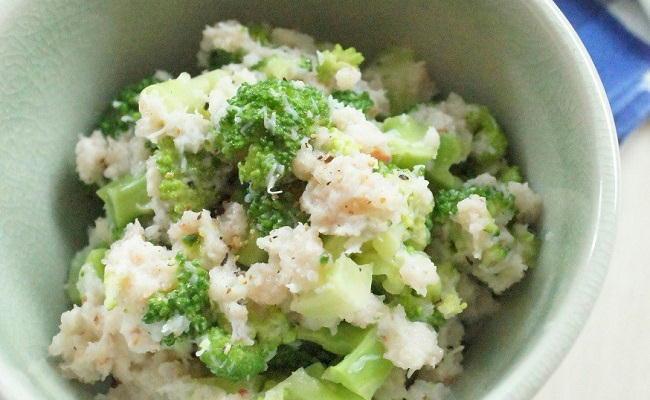 ブロッコリーとカニのヨーグルトサラダ
