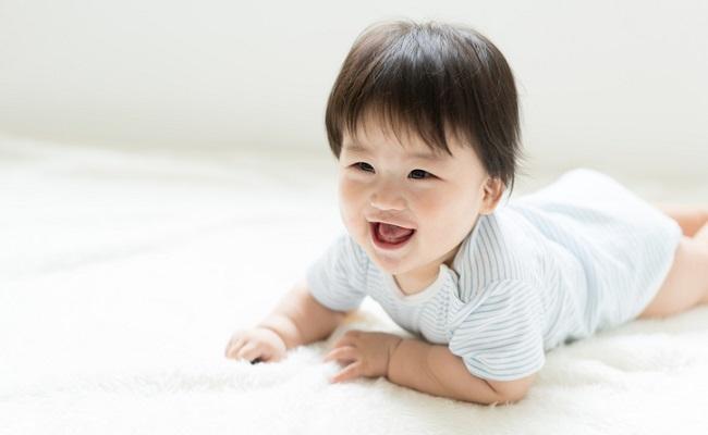 生後8カ月の赤ちゃんのイメージ