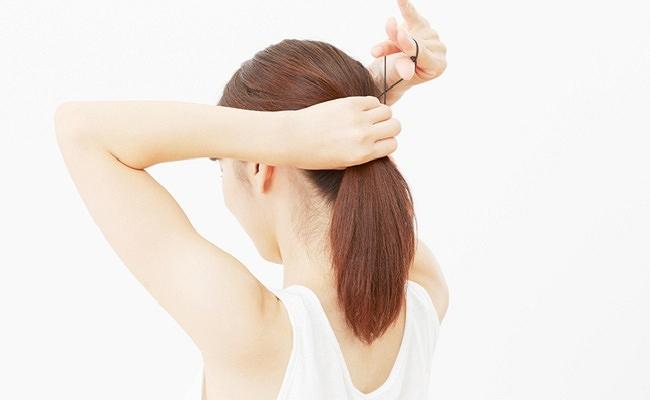 ママのヘアスタイルのイメージ