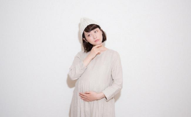 情緒不安定な妊婦