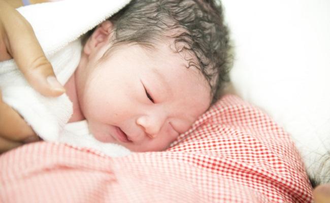 生まれたての赤ちゃんのイメージ