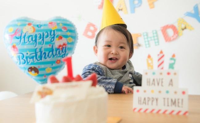 1歳の誕生日のイメージ