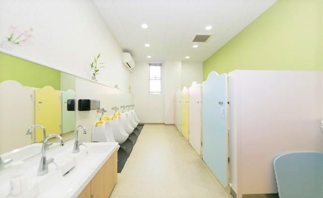にじいろ保育園 新杉田 トイレ