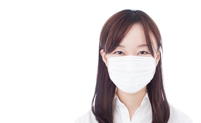 マスク着用した人のイメージ