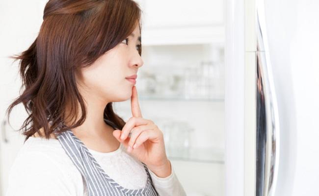冷蔵室の使い方で悩むイメージ