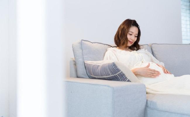 妊婦さんの休憩のイメージ