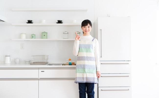 冷蔵庫を新しく購入したイメージ