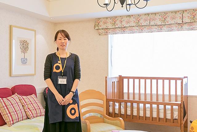 産前産後ケア推進協会の助産師・古谷真紀さん