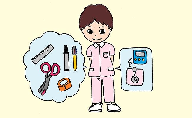 助産師の7つ道具イメージ