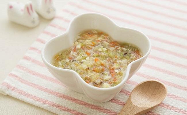 【離乳食後期】たいのとろとろ野菜煮込み