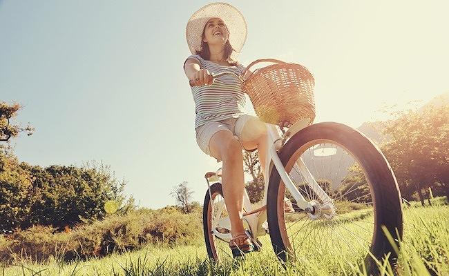 自転車の利用イメージ
