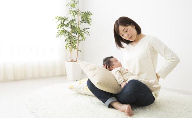 腰痛の母親