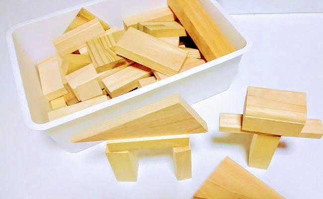 手作りの積み木