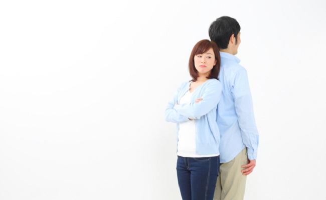 夫婦喧嘩のイメージ
