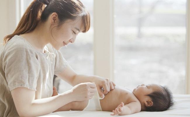 赤ちゃんの排泄のイメージ