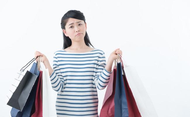 買い過ぎ後悔 女性