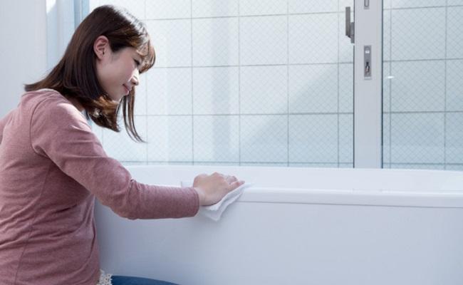 妊婦さんのお風呂掃除