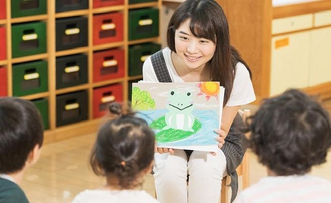 プレ幼稚園に通うイメージ