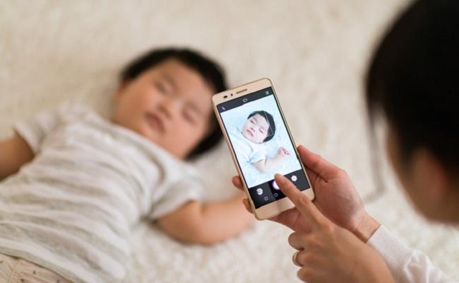 赤ちゃんの写真撮影のイメージ