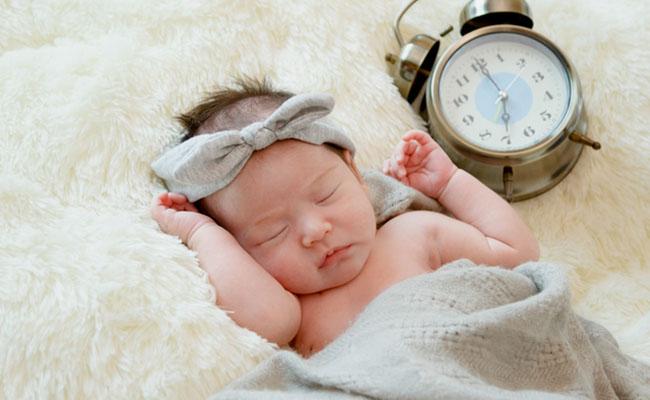 赤ちゃんの生活リズムのイメージ