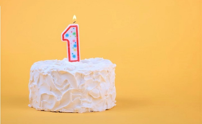 一歳のお祝いのイメージ