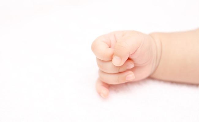赤ちゃんの手のイメージ