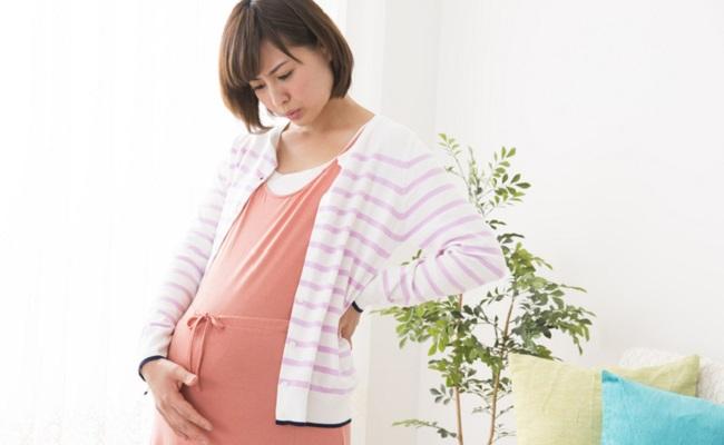 妊娠中期以降の妊婦