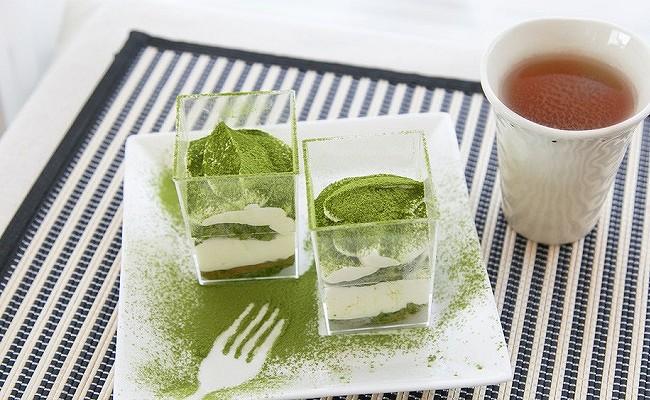 管理栄養士監修レシピ「糖質オフ!大人の抹茶豆腐ティラミス」