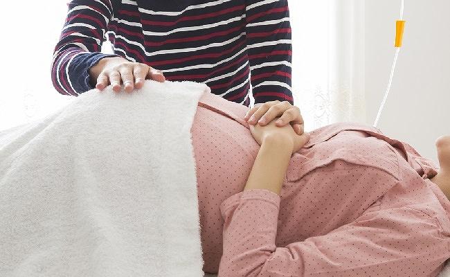 立ち会い出産直前のイメージ