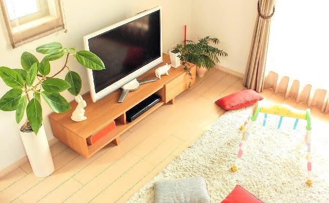 テレビのある風景
