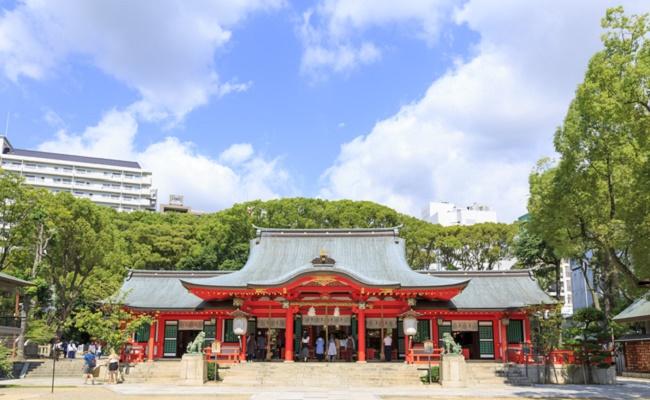 安産祈願を行う神社のイメージ