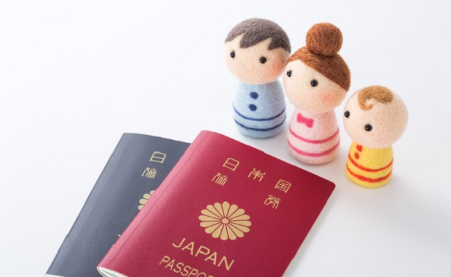 子連れ海外旅行のイメージ