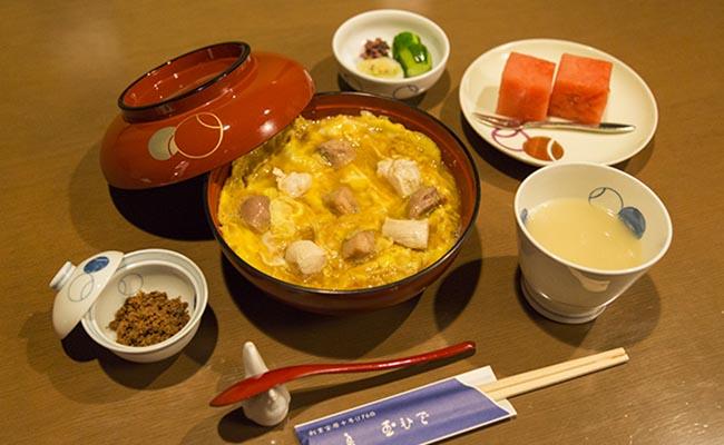玉ひで「昼膳」コースのイメージ