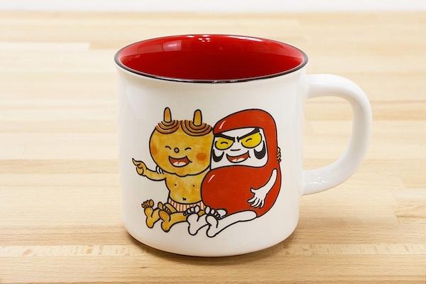 『だるまちゃんとかみなりちゃん』マグカップ