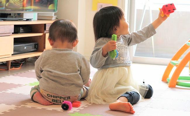 赤ちゃんと子どものイメージ