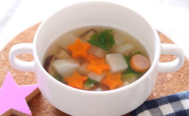 【離乳食完了期】お星さまの野菜スープ