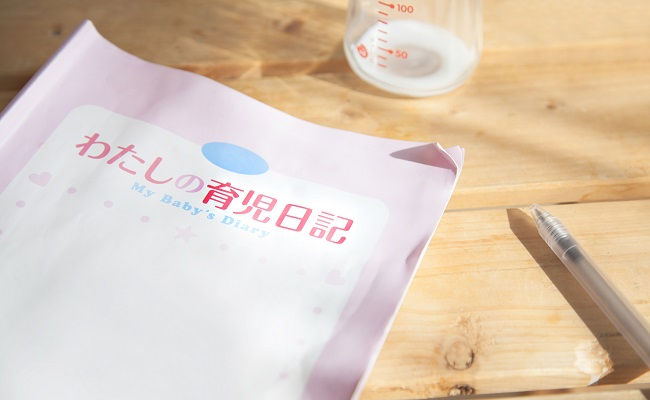 育児日記のイメージ