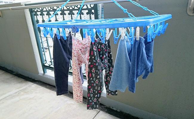 ユニクロレギンス洗濯