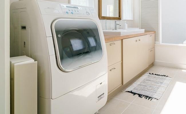 乾燥付洗濯機