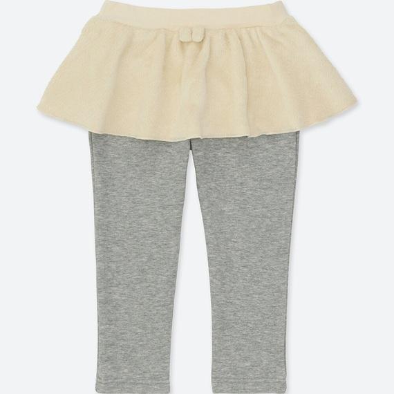 ユニクロボアスカートパンツ