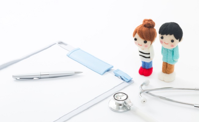 夫婦で健康診断