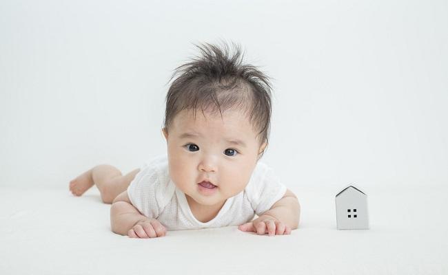 赤ちゃん連れの引っ越しのイメージ