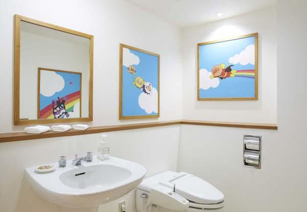 アンパンマンルーム トイレ