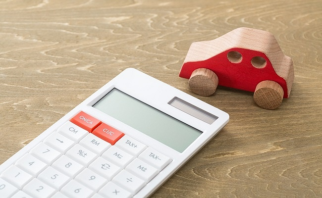 自動車購入時の消費税のイメージ