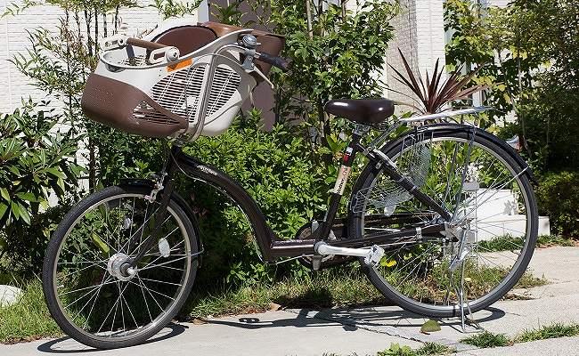 子どものせ自転車